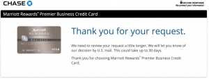 Chase Marriott Business