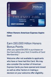 Hilton Aspire