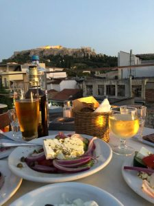 Dinner at Cafe Avissinia