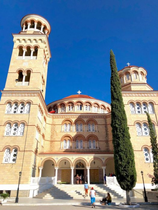 St. Nektarios, Aegina