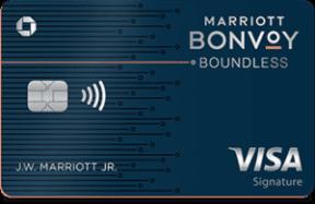 chase marriott bonvoy boundless