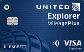 United (Service Mark) Explorer Card