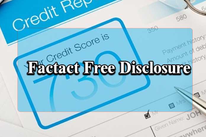 Factact Free Disclosure