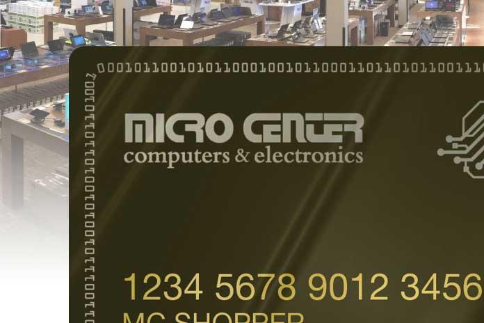 microcenter credit card