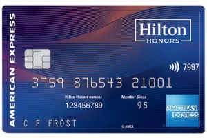 hilton honors credit card