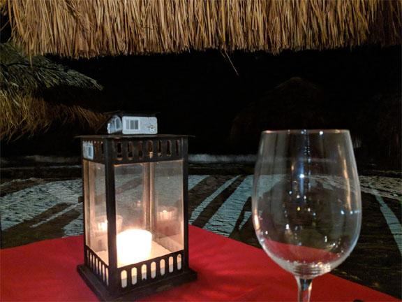 Secrets Capri - Romantic Dinner on the beach