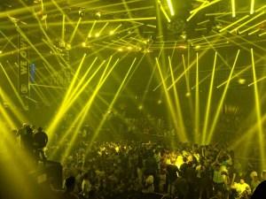 The city nightclub in Cancun
