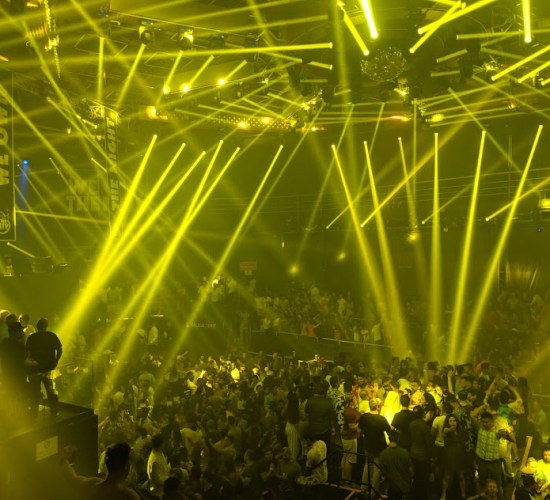 The city nightclub in Cancun