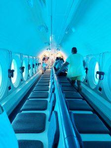 Atlantis Submarine Waikiki Premium Cabin Hawaii