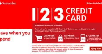 Santander 123 Card