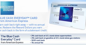 Blue Cash Everyday AMEX Card