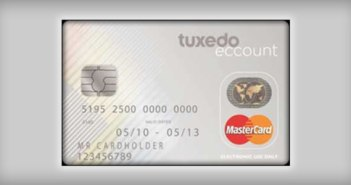 Tuxedo Pay As You Go Prepaid Card