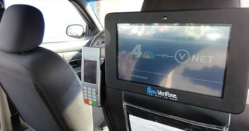 Installing card readers into all Washington DC taxi cabs