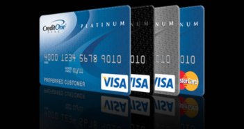 Visa Platinum from Credit One Bank