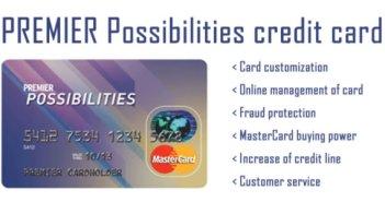PREMIER Possibilities Credit Card