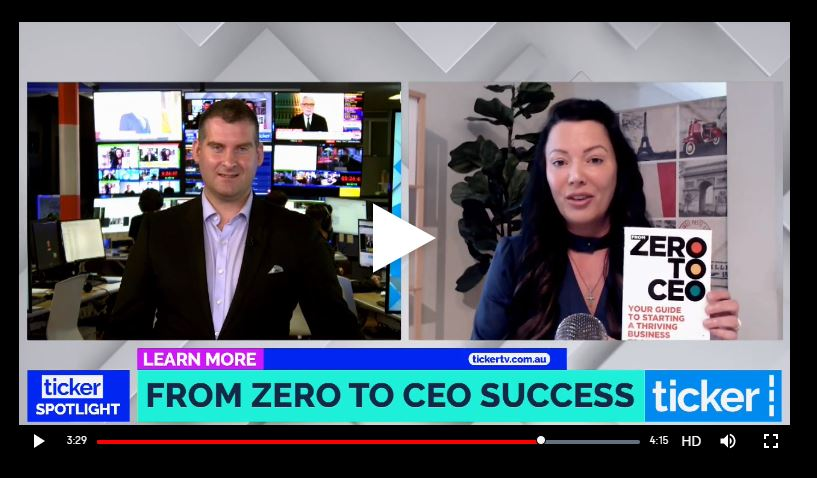 From Zero to CEO book launch