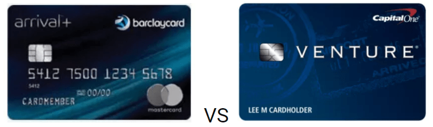 Barclay Arrival Plus Vs. Capital One Venture Card