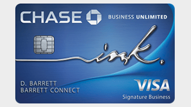 Chase Ink Unlimited