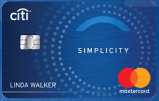 Citi Simplicity Card - A Very Nice Blue Design