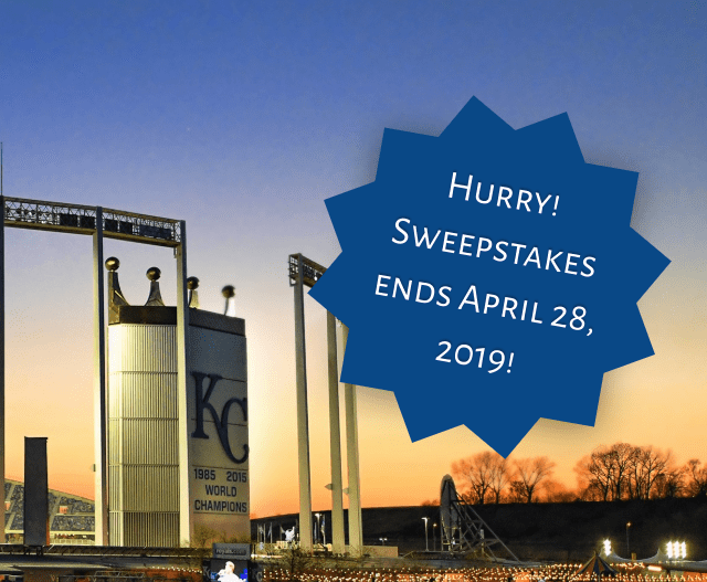 Commerce Bank Royals Dugout Suite Sweepstakes