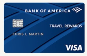 Bank of America Travel Rewards for Students