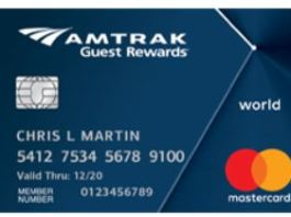 Picture of Amtrak Guest Rewards MasterCard