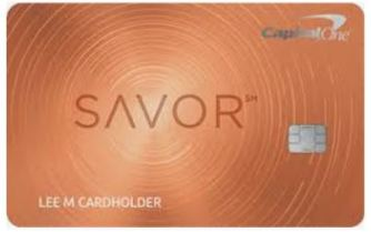 Picture of The Capital One Savor Metal Card