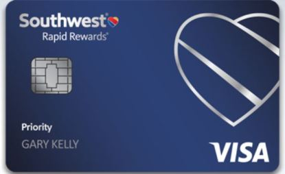 Picture of the Southwest Priority Card