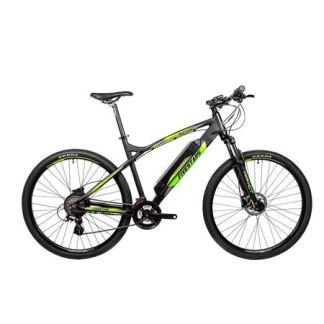 Bicicleta electrica Fivestars 29 negru mat/verde 500mm