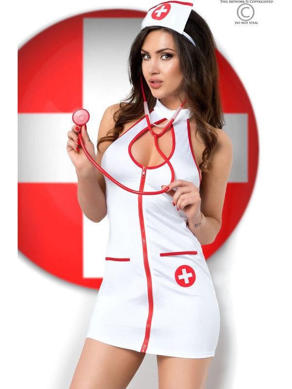 Costum sexy de asistentaCostum sexy de asistenta