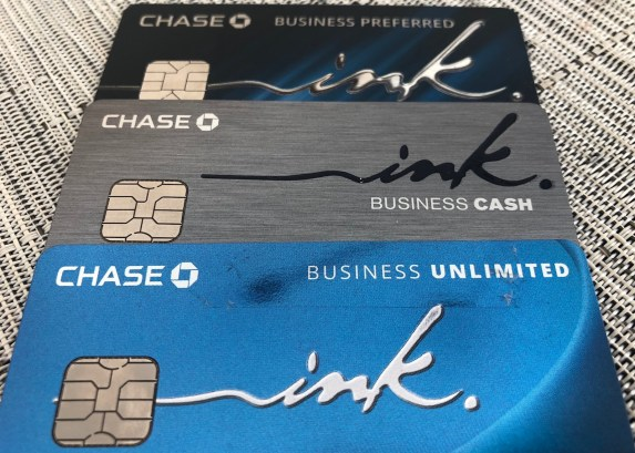 chase ink credits cards