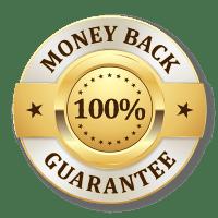 Unconditional money-back guarantee.