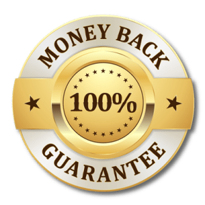 Unconditional money-back guarantee.