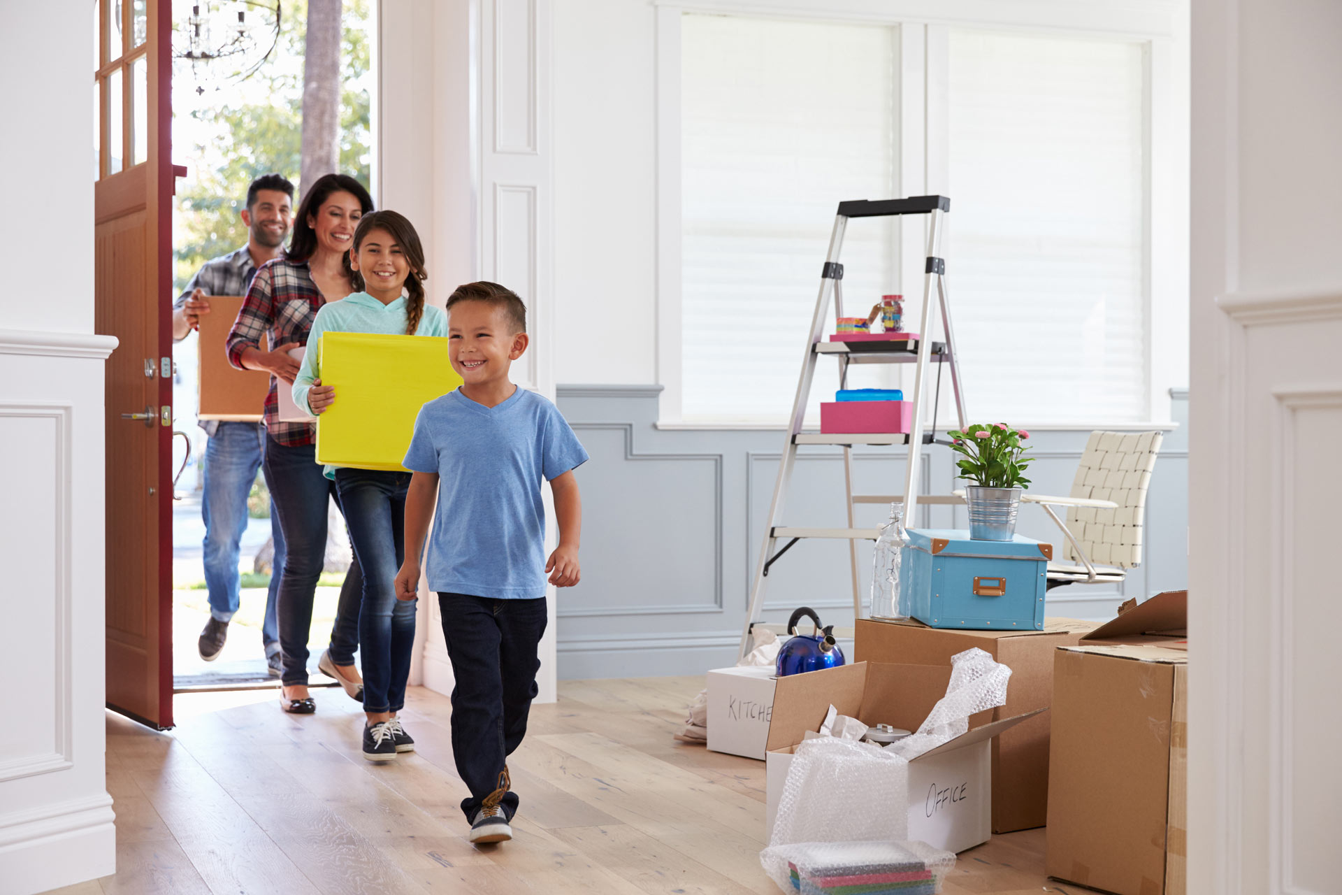 Credit Security Groups helps families buy new home.