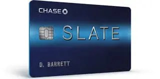 Once that period expires, you'll have to pay a 5% fee to transfer balances. Slate from Chase Credit Card Review | Credit Shout