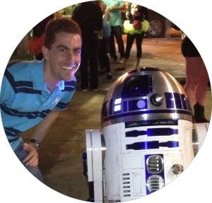 Joe Winn - Credit Union Geek with R2D2