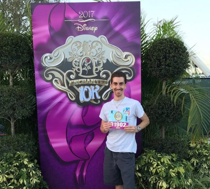 Joe Winn at runDisney Princess 10K 2017