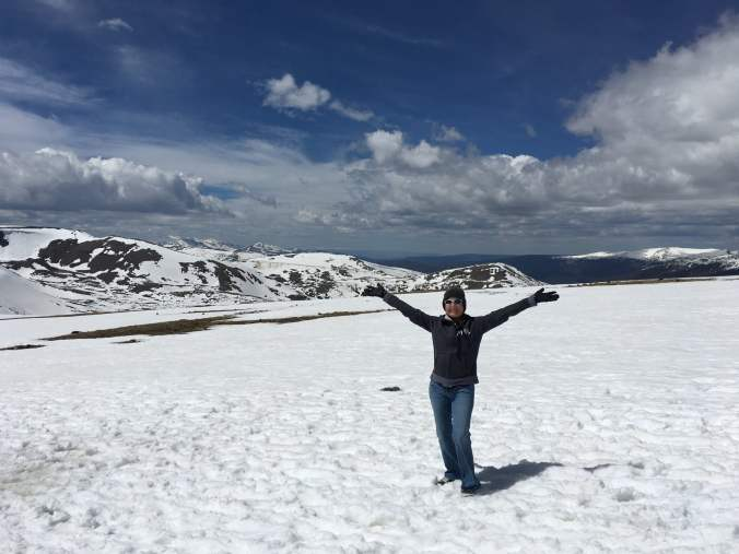 Celebrating Snow at Rocky Mountain National Park