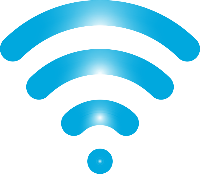 Wireless Icon Blue