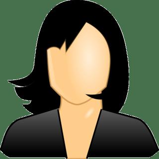 Faceless Woman Illustration