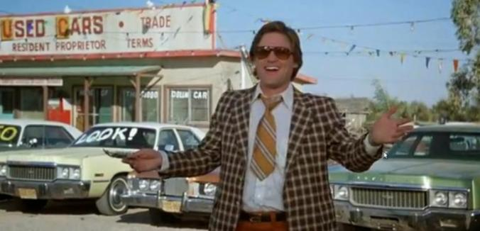 Kurt Russell Used Car Salesman