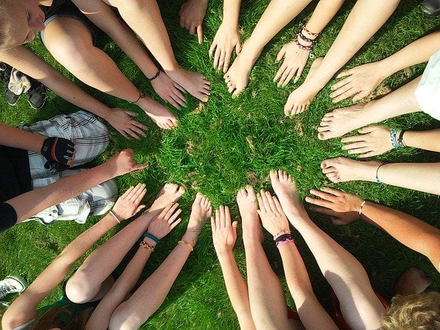 Circle of Hands and Feet