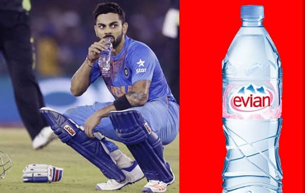 The Amount That Virat Kohli Spends On Expensive Bottled Water And It's Benefits 1