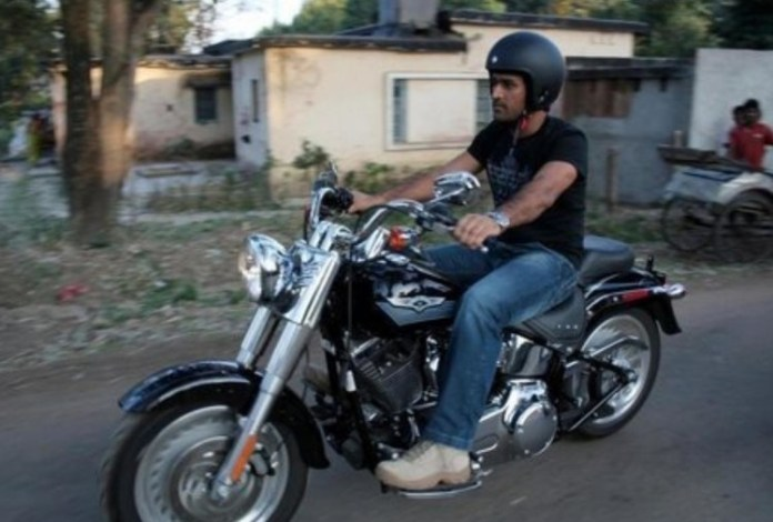 10 Unseen Pictures Of M.S. Dhoni's Bikes Which You Just Can't Afford To Miss 3