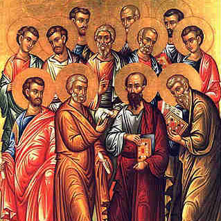The 12 Apostles of Jesus
