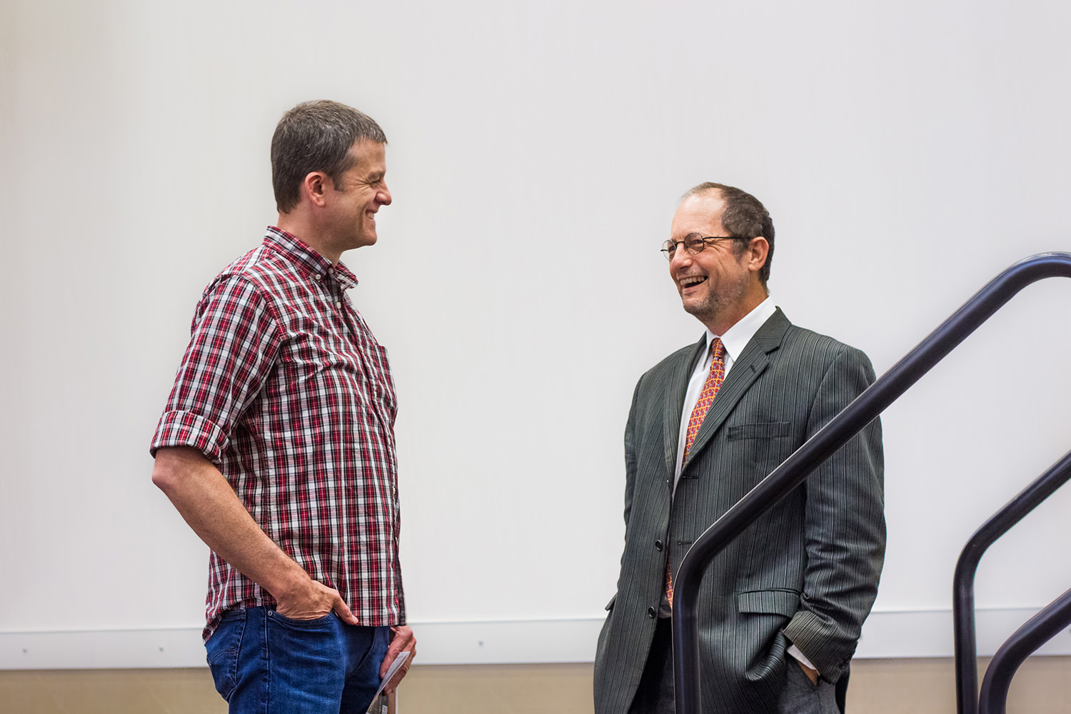Mike Licona and Bart Ehrman Laughing