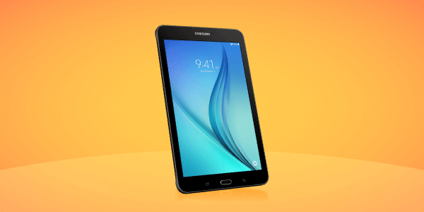 Samsung Galaxy Tab E from CREDO Mobile