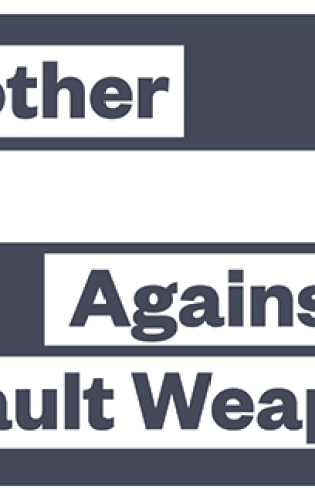 March for Our Lives protest poster – ban assault weapons