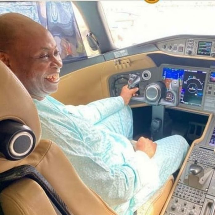 Davido Father Private Jet