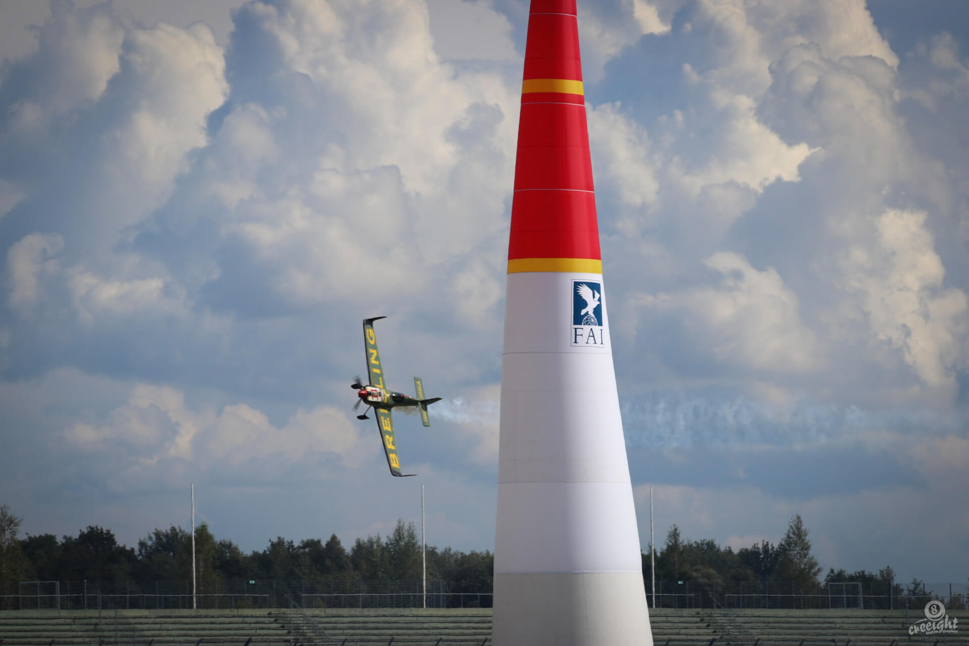 Mikael Brageot, Red Bull Air Race 2017, Lausitzring